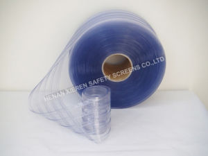 Double Ribbed PVC Strip Curtain pictures & photos