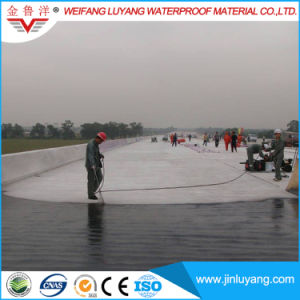 Environmental Friendly/ Solvent-Free Non-Cured Rubber Modified Bitumen Waterproof Coating pictures & photos