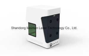 Metal Fiber Laser Marking Machine with 300*300mm 200*200mm 100*100mm pictures & photos