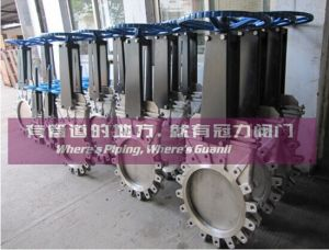 OEM ANSI Standard Knife Gate Valve pictures & photos