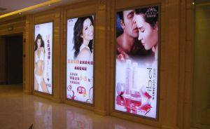 Exterior Illuminate Bank Advertising Media LED Super Slim Poster Printing Light Box pictures & photos