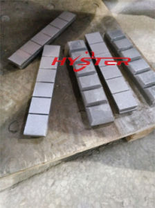 Domite ASTM A532 Bimetallic Wear Parts Chocky Bars with High Abrasion Resistance pictures & photos