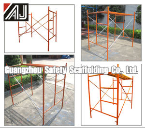 Guangzhou Factory Steel Ladder Type Box Frame Scaffolding for Sale pictures & photos
