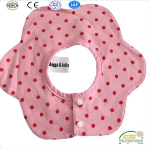 100% Cotton Yellow Bib Towel /Baby Bib pictures & photos