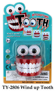 Funny Wind up Tooth Toy pictures & photos