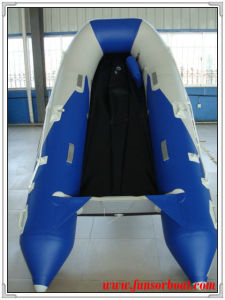 Large Inflatable Boats with Plywood Floor (FWS-D480) pictures & photos