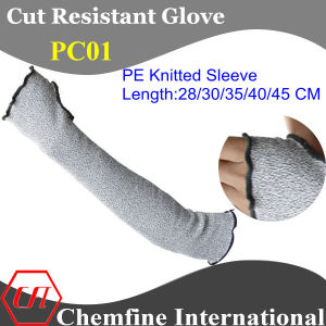 PE Knitted Sleeve/ Length: 28/30/35/40/45 Cm pictures & photos