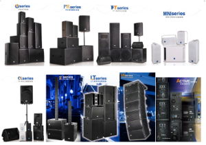 "Double 12"" 3-Way Line Array PA Speaker pictures & photos"