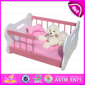 2015 Easy Clean Luxury Dog Bed, Wooden Bed Luxury Pet Dog Beds, Pet Product, Wholesale High Quality Luxury Pet Dog Beds W06f005A pictures & photos
