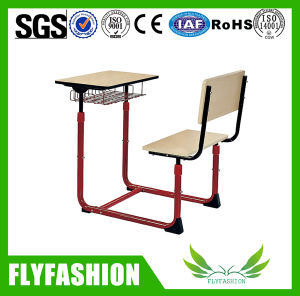 Classroom Furniture Design Single Desk and Chair Set (SF-94S) pictures & photos