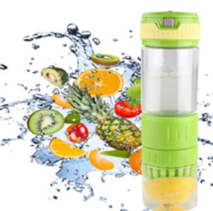 2015 New Design High Borosilicate Lemon Juicer Maker Glass Bottle pictures & photos