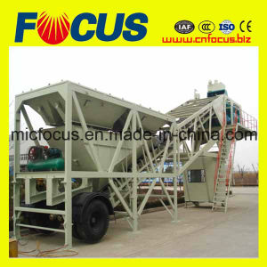 Excellent Performance Portable Mobile Concrete Batching Plant Yhzs75 pictures & photos