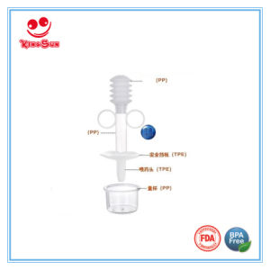 Syringe Style Transparent Baby Medicine Dispenser pictures & photos