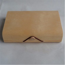 Square Shape Natural Wood Color Birch Bark Bread Tea Packing Box pictures & photos