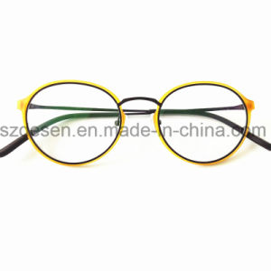 Shenzhen Optical Frames Retro Spectacles Clear Lens Japanese Eyeglass Frame pictures & photos