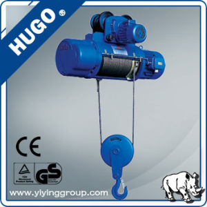 Accept Paypal Mini Electric Wire Rope Hoist pictures & photos