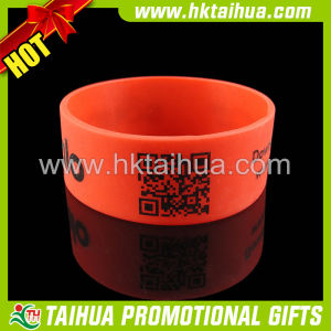 "Hot Custom 1"" Silicone Bracelet Wristband (TH-band007) pictures & photos"