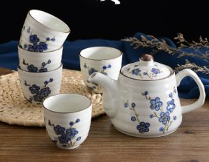 Cheap Price Ceramic Tea Set for Shop pictures & photos