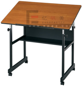 Durable Wooden Drafting Desk in School Furniture pictures & photos