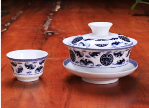 Fine Shell China Tea Set Kungfu Tea Cup pictures & photos