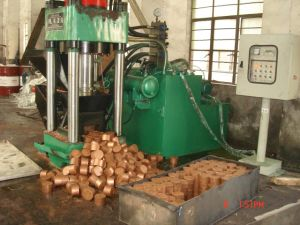 Hydraulic Aluminium Copper Chips Briquetting Press Machine pictures & photos