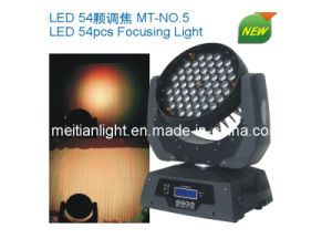 Stage LED 54PCS 3W RGB Moving Head Focusing Light (MT-NO. 5)