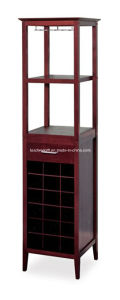 Winsome Wood Wine Tower Home Furniture Espresso Finish Display Rack pictures & photos