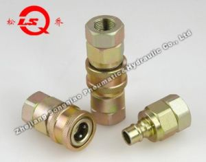 Lsq-S9 Close Type Hydraulic Quick Coupling (STEEL) pictures & photos