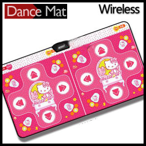 Twin Wireless Dance Mat 32 Bit for TV and PC with 30 Games 80 Songs pictures & photos
