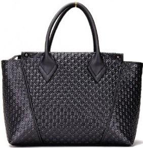 Fashion Ladies Leather Handbag (JZ27020)