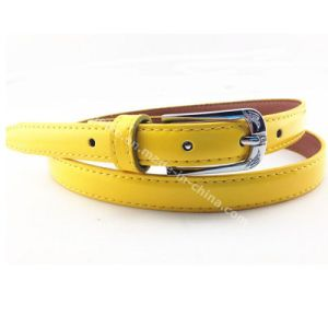 Lady Skinny Fashion PU Leather Belts pictures & photos
