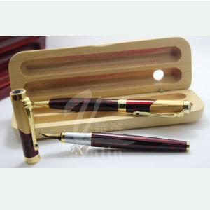 Fountain Pens Gift Box in Wood Material pictures & photos