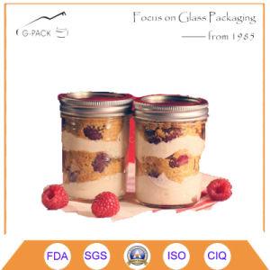 Glass Mason Jar Ice Cream Jar pictures & photos