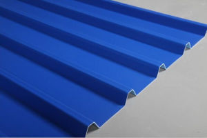 3-Layers Corrugated UPVC Roofing Sheet pictures & photos