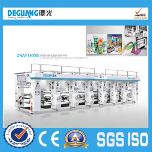Automatic BOPP Film Rotogravure Printing Machine in Sale pictures & photos