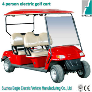 4 Seat Electric Golf Buggy with Best After-Services pictures & photos