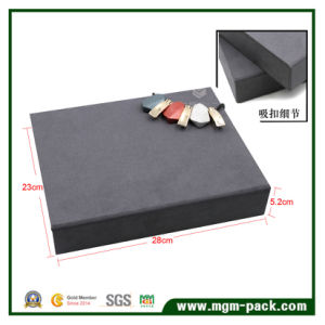 High End Custom Suede Jewelry Display Box pictures & photos