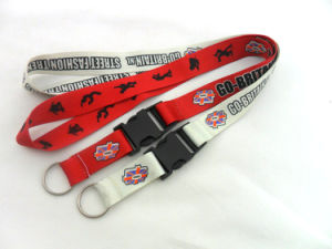 Promotional Gift Ribbon Strap Custom Printed/Heat Transfer Lanyard (GBBP100) pictures & photos