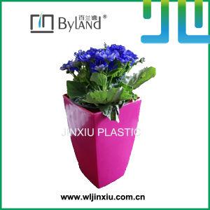 Decorative Plastic Squre Planter Garden Pots