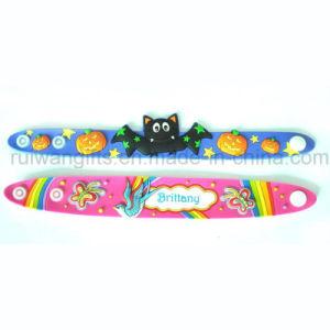 Cartoon PVC Rubber Kids Bracelet (BR032) pictures & photos