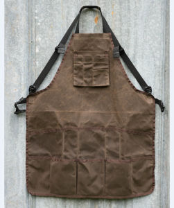 Heavy Duty Waxed Canvas Tool Apron Vintage Work Apron pictures & photos