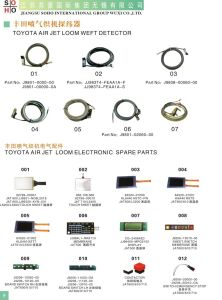 Air Jet Loom Parts (JAT 500 600 610 710) pictures & photos