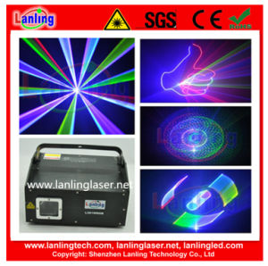 3D Laser Stage Light 1W Animation Disco Lighting pictures & photos