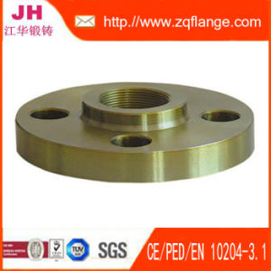 DIN Carbon Steel Threaded Pipe Flange pictures & photos