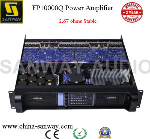 Fp10000q 2.67 Ohm Stable 5000W Universal DJ Amplifier Price pictures & photos