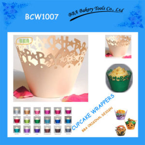 BBA Pink Cute Cupcake Wrapper (BCW1007)