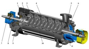 Mining Mineral Processing Industry Chemical Slurry Pump (DFS) --Sanlian/Kubota