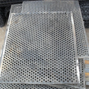 Aluminum Perforated Metal Screen Sheet pictures & photos