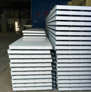 Color Steel Sheet Roof Use Sandwich Panel pictures & photos