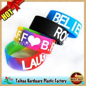 Rubber Wristband for Promotional (TH-6868) pictures & photos